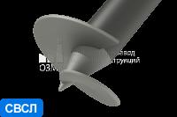 Сваи винтовые стальные с литым наконечником