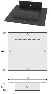 Оголовок для железобетонной сваи ОС-ЭКО 250x250