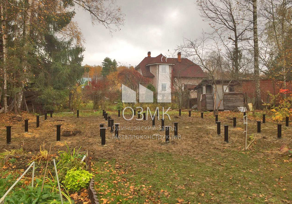 Построить свайный фундамент дома в Подольске